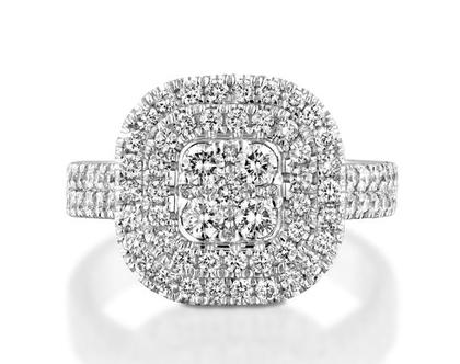 טבעת יהלומים GLORIA, טבעת יהלומים לאישה, טבעת יהלומים, טבעת מיוחדת, טבעת יהלומים לאישה, טבעת מתנה לאישה, טבעת זהב ויהלומים, טבעת יוקרתית