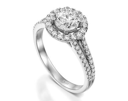 טבעת יהלום LAURETTA, טבעת יהלומים לאישה, טבעת יהלומים, טבעת מיוחדת, טבעת יהלומים לאישה, טבעת מתנה לאישה, טבעת זהב ויהלומים, טבעת יוקרתית