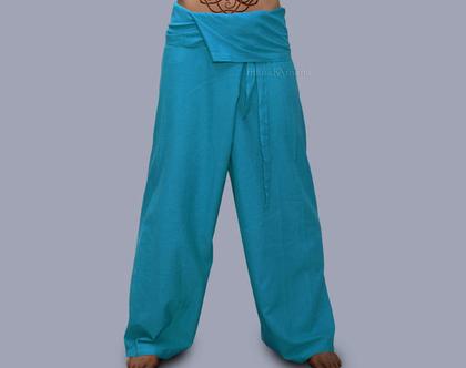 מכנסי דייגים איכותיית - כחול - כתום - חיל הים