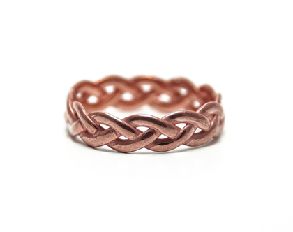 טבעת מיוחדת, טבעת קלועה, טבעת יחידה במינה, טבעת יחיד ומיוחד, טבעת זהב 14 קרט, טבעת נישואים