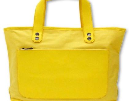 תיק כתף MARC JACOBS מארק ג'ייקובס צהוב שמש גדול