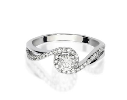 טבעת יהלום GINGER, טבעת יהלומים לאישה, טבעת יהלומים, טבעת מיוחדת, טבעת יהלומים לאישה, טבעת מתנה לאישה, טבעת זהב ויהלומים, טבעת יוקרתית