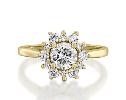 טבעת יהלום SUNRISE, טבעת יהלומים לאישה, טבעת יהלומים, טבעת מיוחדת, טבעת יהלומים לאישה, טבעת מתנה לאישה, טבעת זהב ויהלומים, טבעת יוקרתית