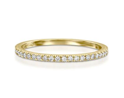טבעת יהלומים שורה 0.18ct, טבעת יהלומים, טבעת איטרנטי, טבעת שורה, טבעת יהלומים לאישה, טבעת מתנה לאישה, טבעת זהב ויהלומים, טבעת זהב לבן, טבעת