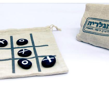 משחק בשק - איקס עיגול חלוקי נחל