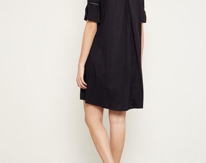 שמלת 'מרגו'   שמלה שחורה   שמלה לקיץ