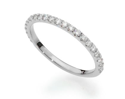 טבעת יהלומים שורה 0.22ct, טבעת יהלומים, טבעת איטרנטי, טבעת שורה, טבעת יהלומים לאישה, טבעת מתנה לאישה, טבעת זהב ויהלומים, טבעת זהב לבן, טבעת