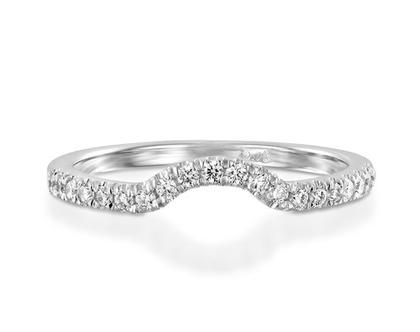 טבעת יהלומים מעוקלת 0.21c, טבעת יהלומים, טבעת יהלומים מעוקלת, טבעת שורה, טבעת יהלומים לאישה, טבעת מתנה לאישה, טבעת זהב ויהלומים