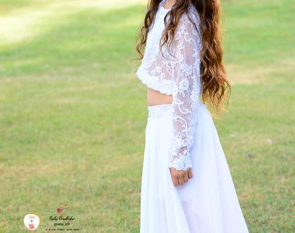 שמלת בת מצווה מיה להשכרה