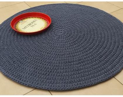 שטיח טריקו   שטיח סרוג   שטיח עבודת יד   שטיח עגול   שטיחים סרוגים