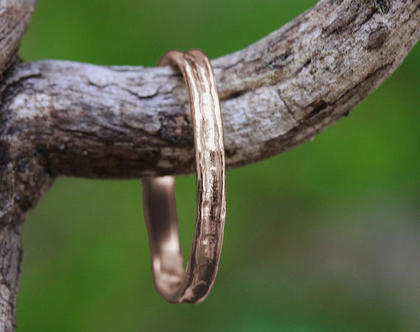 טבעת נישואין לגברים זהב אדום, טבעת נישואין גולמית, טבעת נישואין לחתן, טבעת דקה לגבר, טבעת נישואין גולמית, טבעת נישואין קלאסית לגברים