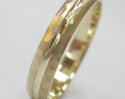 טבעת נישואין זהב 14 קראט