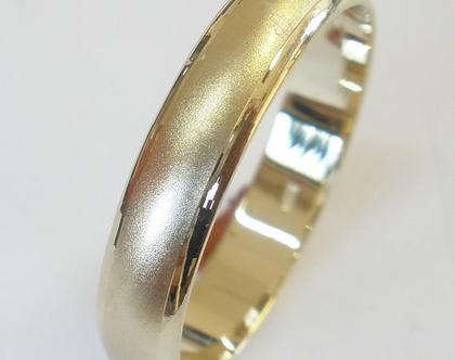 טבעת נישואין זהב 14 קארט.