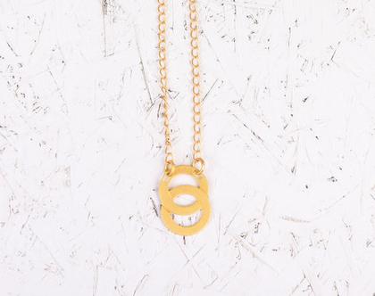 שרשרת אינסוף/ שרשרת אינפינטי זהב / שרשרת אינסוף אהבה/ שרשרת מתנה ליום הולדת/ שרשרת מתנה לחברה