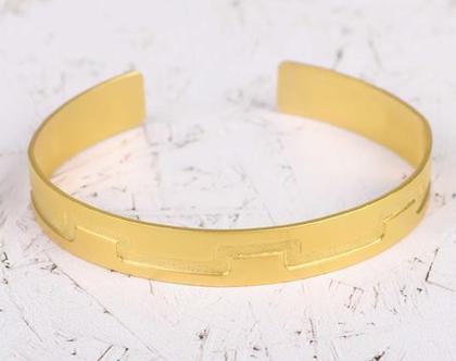 צמיד פתוח מזהב / צמיד מיוחד לאישה / צמיד זהב עבודת יד/ צמיד פתוח / צמיד אישה מזהב/ צמיד מתנה
