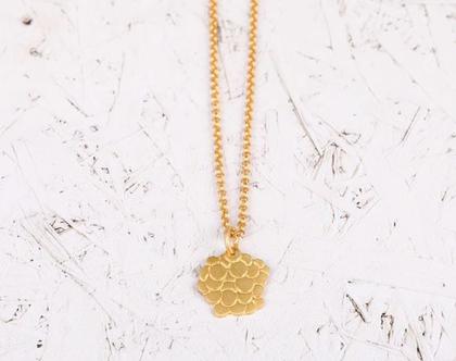 שרשרת זהב עיגולים/ שרשרת זהב גיאומטרית / שרשרת בועות זהב/ שרשרת ציפוי זהב/ שרשרת זהב עם תליון עיגולים