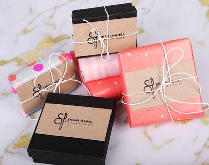 שרשרת זהב / שרשרת גיאומטרית / שרשרת זהב מעוינים/ שרשרת לערב / חתונה / מתנה לחברה
