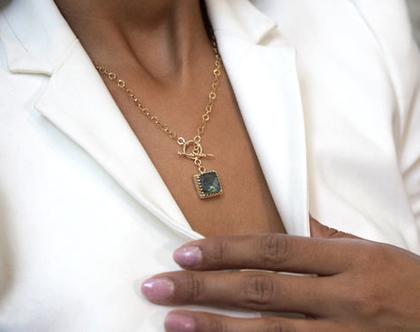 שרשרת יוקרה,שרשרת רוז גולד,שרשרת יוקרתית,שרשרת קריסטלים,שרשרת ייחודית,שרשרת ענקית,שרשרת כסף 925,שרשרת עם אבן טבעית,שרשרת כסף בשיבוץ אבן