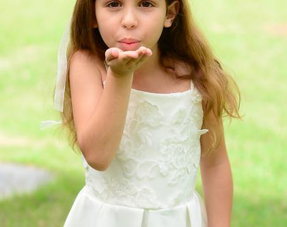 שמלת אדל לבנה