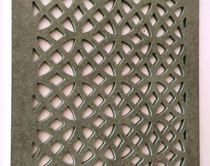 משרביה קלאסית | משרביה מעוצבת | משרביה מעץ | קיר משרביה דגם EDEN
