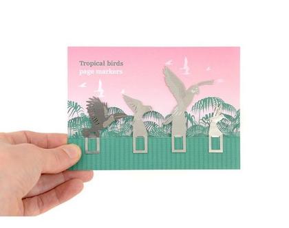 סימניות tropical birds   סימניות מיוחדות   סימניה לספר   סימניות מתכת