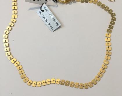 שרשרת מעוצבת / שרשרת לאישה / שרשרת זהב מיוחדת / שרשרת גורמט