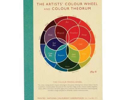 מחברת גלגל הצבעים גודל A6