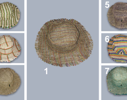 כובע החוף עשוי מקנביס