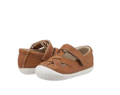 PAVE THEREAD | TAN | OLD SOLES | נעלי צעד ראשון | נעליים ראשונות | חום קאמל