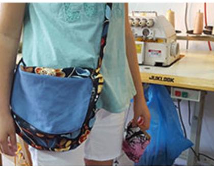 סדנת תיקים ואביזרי אופנה - סדנא לנערות בחופשת הקייץ