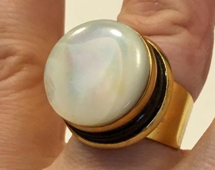 טבעת סוכריה לבנה