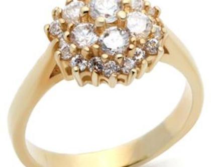 טבעת דיאנה אבנים שקופות