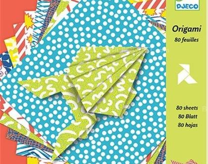 80 דפי אוריגמי
