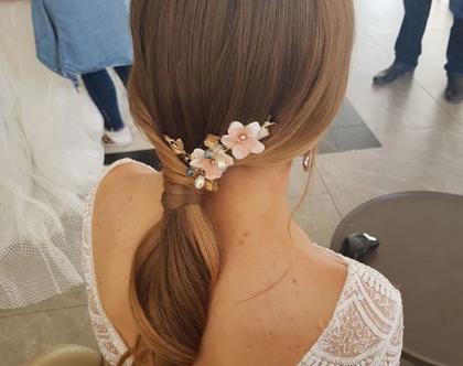 אקססוריז לכלות, תכשיטי שיער לכלות, אביזרי שיער לכלה, אקססוריז לשיער, פרחים
