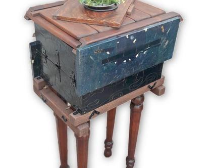 שידה מיוחדת   שידת איחסון קטנה   שידה גבוהה אלגנטית   כוננית עץ  