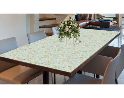מפת שולחן PVC מעוצבת - דגם #1 Kingdom | מפת שולחן וינטג דיזיין | מפת שולחן עיצוב בהתאמה אישית