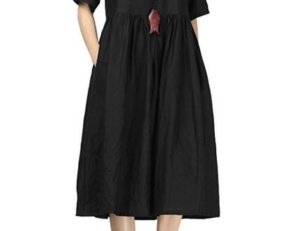 שמלת מידי שחורה