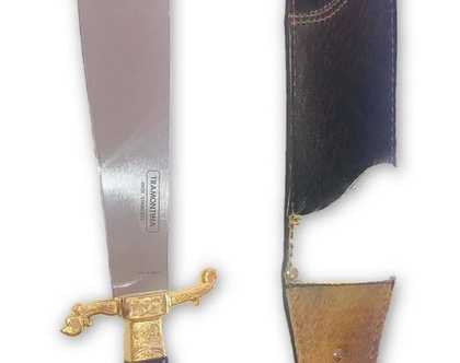"""סכין arabia ייחודית 10 אינטש (26 ס""""מ)"""