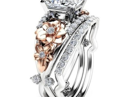 טבעת אירוסין כסף 925 מידה 6