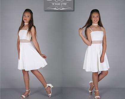 שמלת מאיה לבת מצווה של המעצבת שירן סבוראי