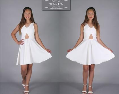 שמלת גילי לבת מצווה של המעצבת שירן סבוראי