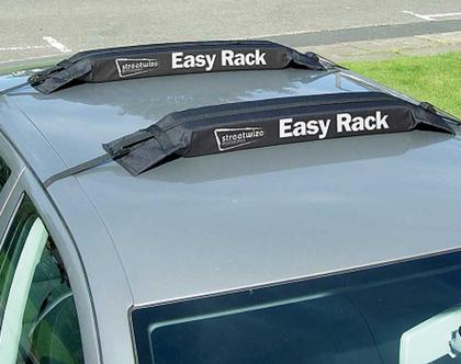גגון ספוג קשיח לרכב : קל להרכבה, בעל 2 רצועות נוספות לחיזוק