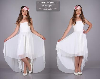 שמלת דרור לבת מצווה של המעצבת שירן סבוראי