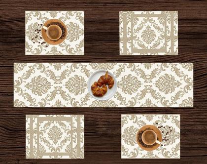 ראנר פי.וי.סי - דגם ROMI - ראנר לעיצוב שולחן חגיגי - עיצוב חדש