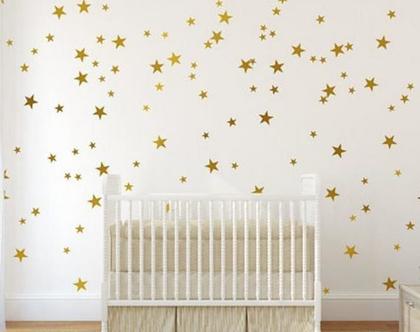 מדבקות קיר | מדבקות כוכבים | מדבקת ויניל | מדבקות לקיר