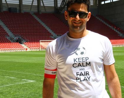 חולצת: keep calm and fair play