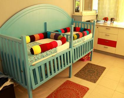 מיטת תינוק לתאומים