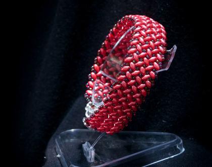 צמיד מחרוזי זכוכית יפניים