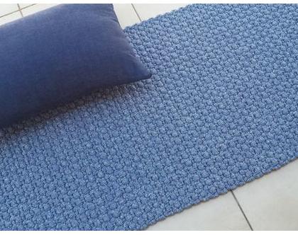 שטיח טריקו | שטיח סרוג | שטיח מלבני סרוג | שטיח עבודת יד | שטיח למטבח | שטיח למסדרון | שטיח לחדר שינה | שטיח ליד המיטה | שטיחים סרוגים