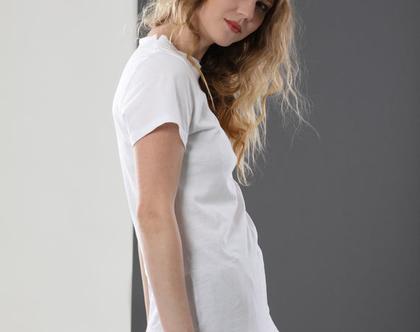 חולצה T | לבנה